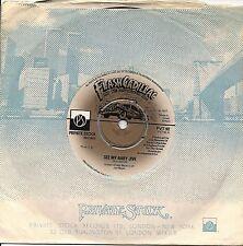 "FLASH CADILLAC & THE CONTINENTAL KIDS 7"" SEE MY BABY JIVE + BROWN WATER 1977"