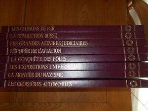 collection 8 livres Les Grands dossiers de l'ILLUSTRATION - recueils TBE