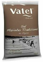 1kg Meersalz VATEL Unraffiniert TRADITIONELL Grob Salz Portugal