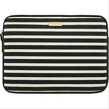 """Genuine kate spade New York - 13"""" MacBook Printed Sleeve - Black/Cream - (VG)"""