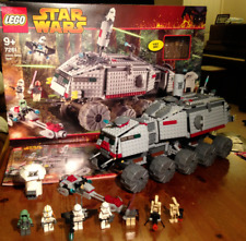 Star Wars Lego 7261: Clone Turbo Tank 100% Complete & Boxed