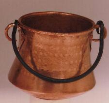 Olla vasca hecha a mano en cobre. Basque pot handmade copper