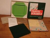 Vtg 1970s Travel Scrabble Spear's Games. 100% Complete Ex Condition