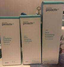 Proactiv+ Facial Care Bundle Hydrator, Pore Treatment , Exfoliator,  New Sealed