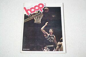 1977 Boston Celtics PROGRAM vs San Antonio Spurs 11/9/77 * George Gervin cover