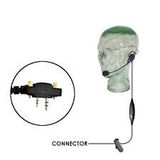 Klein Razor Lightweight Headset for Icom F (2 Mount Screws) Two Way Radios