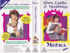 MONICA KISSES,CUDDLES AND MOONBEAMS   VHS VIDEO PAL~ A RARE FIND