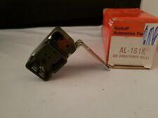 A/C Compressor Cut-Out Relay-Clutch Cutoff Relay Niehoff AL161K MADE IN USA NOS