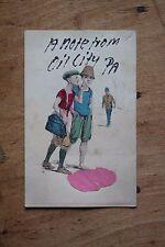 Oil City Pennsylvania Glitter Greeting Undivided Back Antique Postcard PA