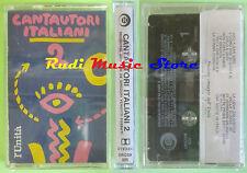 MC CANTAUTORI ITALIANI 2 compilation sigillata sealed VECCHIONI BENNATO no cd