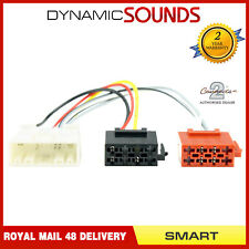 CT20MC05 ISO Stereo Harness Adaptor Wiring Lead For Smart ForTwo (2015>)