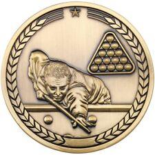 70mm Snooker & Pool Sport Medallion Medals 247 Club FREE ENGRAVING & uk p&p