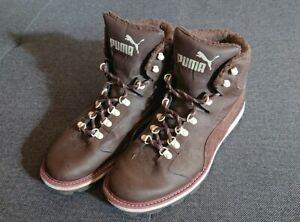Puma Tatau Fur Boot - 44 - Schuhe Stiefel - chocolate brown -