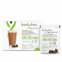 Amway BodyKey by Nutrilite™ Meal Replacement Shake Packets Chocolate 14pkts NEW