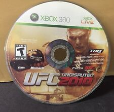 UFC Undisputed 2010 (Microsoft Xbox 360, 2010) REFURBISHED (DISC ONLY) #10753