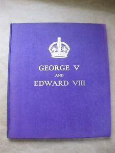 George V & Edward VIII ~ 1936 Hardback Book ~ A Royal Souvenir 1936