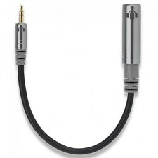 HeadsUp Premium Headphone Adaptor Cable 6.35mm to 3.5mm- Black 25cm