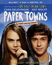 Paper Towns (Blu-ray, 2015, 1-Disc Set)