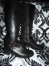 Senso leather boots size 37 made in Italy