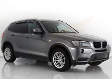 BMW X3 F25 5-doors 2010-2017 4 pc wind deflectors HEKO Tinted