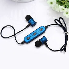 Wireless Bluetooth Headset Stereo In-Ear Earphone For Samsung iPhone BlackBerry