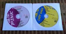 2 CDG KARAOKE DISCS HITS PINK & LADY GAGA  CD+G TEEN POP POKER FACE,SOBER CD+G