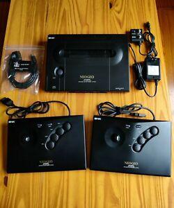 Neo Geo AES U.S. Console System Unibios 4.0