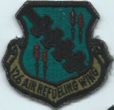 126 AIR REFUELING WING ANG US AIR FORCE SQUADRON PATCH