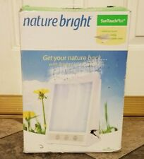 Nature Bright Sun Touch Plus Light and Ion Therapy Lamp - BRAND NEW