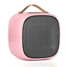 Three Modes Portable Electric Space Heater,fast heating for home & office - Pink