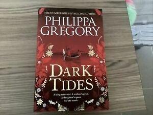 Signed - Dark Tides by Phillipa Gregory - Hardback - New - Red Edges