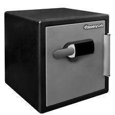 Fire + Water Safe 1.23 cu. ft. Large Touchscreen Lock Alarm SentrySafe Flood Box