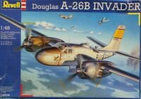 Revell 1:48 Douglas A-26 B A-26B Invader Plastic Aircraft Model Kit #04504U