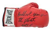 "Mike Tyson Signed Boxing Glove Inscribed ""Baddest Man"" #D/20 ""Tyson Vs."" JSA COA"