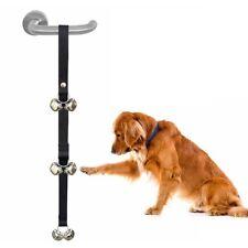 Cachorro Perro Ayuda Entrenamiento Timbre De Puerta Timbre Tren De Inodoro De Mascotas Ajustable Hazlo tú mismo