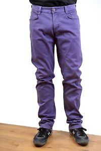 SIVIGLIA PurpleJEANS MADE ITALY STRAIGHT STRETCH Fit W34 Mens Siviglia SP01LLU