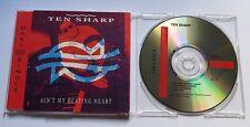 Ten Sharp - Ain't my beating heart - 3 trx Maxi CD MCD Only A Miracle