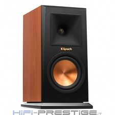PAIR SPEAKERS SUPPORT KLIPSCH RP-150M CHERRY COFFERS NEW WARRANTY ITALY
