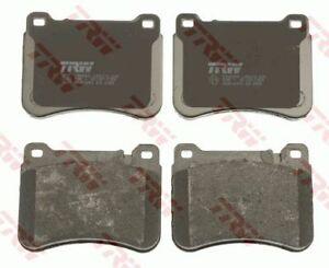 TRW Front Brake Pad Set for MERCEDES-BENZ C-CLASS Sedan (W203) C 200 Kompressor