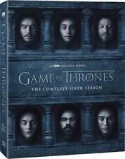Game of Thrones: The Complete Sixth Season 6 (DVD, 2016) Free Shipping