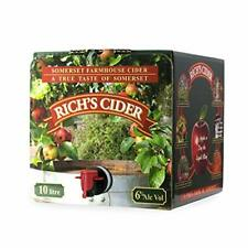 Rich's Medium Farmhouse Cider 10 Litre bag in Box Party Pack