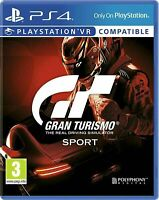 Gran Turismo GT Sport - VR Compatible - (Sony PlayStation 4, PS4)