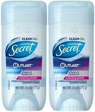 Secret Outlast Clear Gel Antiperspirant Deodorant, Protecting Powder