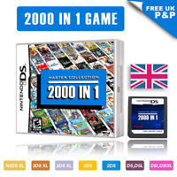 New 2000 in 1 Nintendo DS Game Cartridge for 3DSXL 2DSXL DS Pokemon Mario