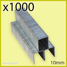 1000 X Pieces 10mm Staples High Quality Heavy Duty Staple For Stapler Staple Gun
