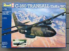 REVELL / GERMANY 1/72 C-160 TRANSALL ELOKA /NG TRANSPORT AIRCRAFT MODEL 04675 FS