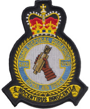 No. 5131 (Bomb Disposal) Squadron RAF Embroidered Patch ** LAST FEW **