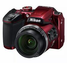 """🔥BRAND NEW Nikon COOLPIX B500 Red Digital Camera w/ 3""""Display 16MP 40x Zoom"""