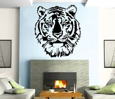 Tiger Head Wall MURAL Vinyl Art Sticker Kids Room M041