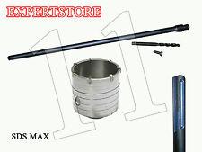 FRESA A TAZZA mm 110 CAROTATRICE + ASTA SDS MAX 1000 MM